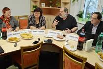Tisková konference Sdružení Mostečané Mostu.