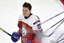 Litvínovský hokejista Jan Myšák v reprezentaci.