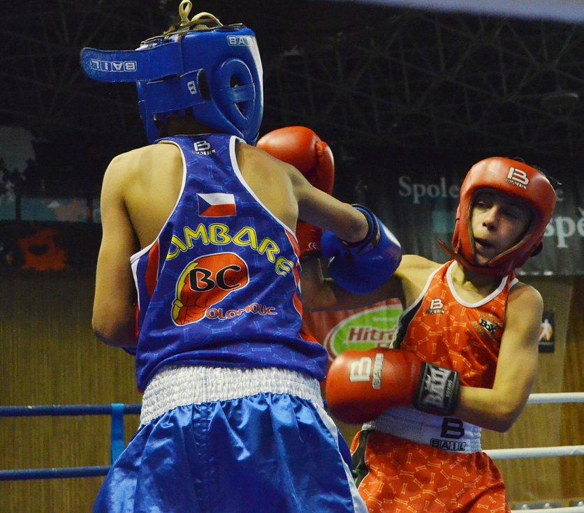 MČR v boxu v mostecké hale.