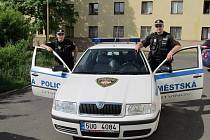 Litvínovští strážníci. Ilustrační foto.