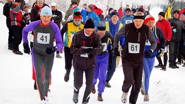 V roce 2010 se běhalo na Benediktu na sněhu, letos bude zřejmě holomráz.