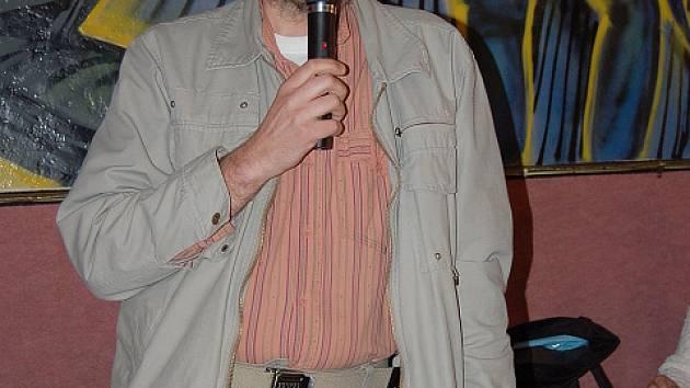 Zastupitel Petr Leichner.
