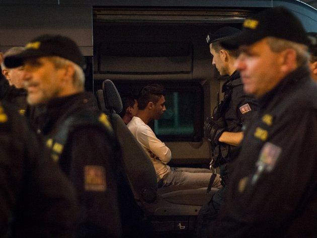 Cizinecká policie v červnu kontrolovala vlaky v Brně, kde zadržela uprchlíky z Afgánistánu.