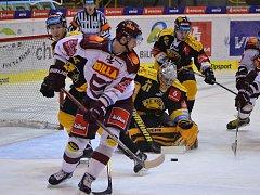Litvínov doma hrál proti pražské Spartě.