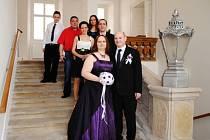 Svatby se v následujících týdnech budou konat jen na zámku.
