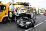 V Havrani se střetla tři osobní auta