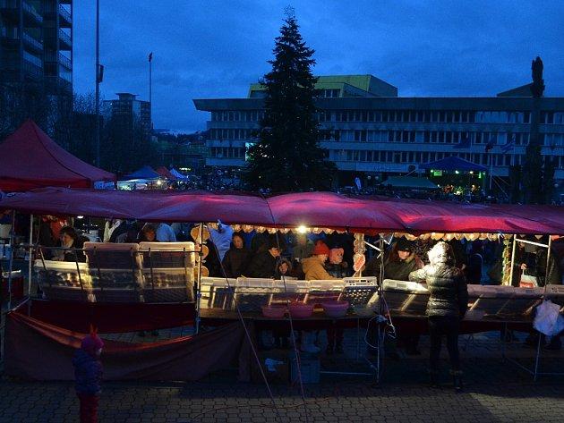 Vánoční trh v roce 2015.