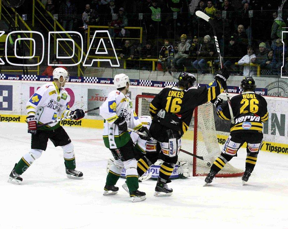 Hokejisté Litvínova na Karlovy Vary nestačili