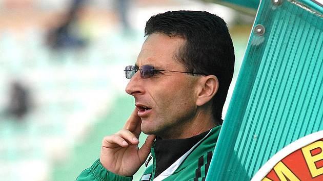 Mostecký trenér Michal Zach.