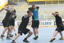 Hokejisté Vervy se začali potit v letní přípravě.