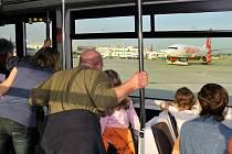 Drážďanské letiště slaví narozeniny.