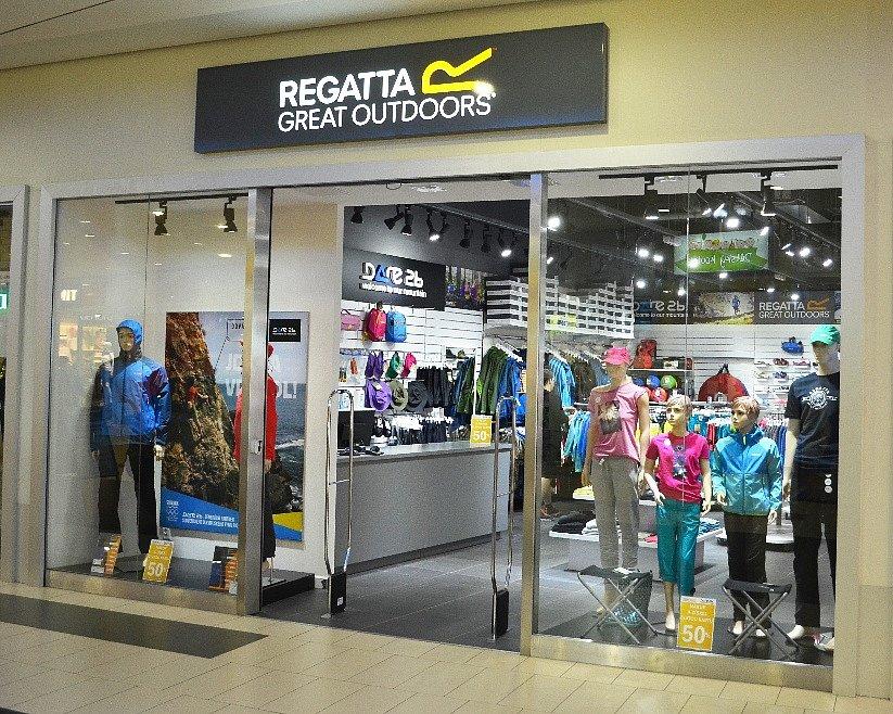 2d50ebdeccdd Nový obchod s oblečením značky Regatta.
