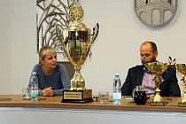 Pavla Chotěborská vypráví, jakým úspěchem byl postup do Ligy mistrů.