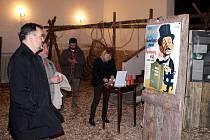 Výstava Bílý kanibal v mosteckém muzeu
