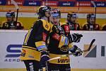 Litvínov ve veledramatickém zápase přehrál doma Jihlavu 3:2.