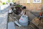 Alešovka mění tvář. V ulici probíhá rekonstrukce vodovodu a kanalizace i oprava chodníků. Nová bude i silnice.