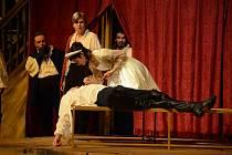 Fotografie ze zkoušky premiéry Zamilovaný Shakespeare