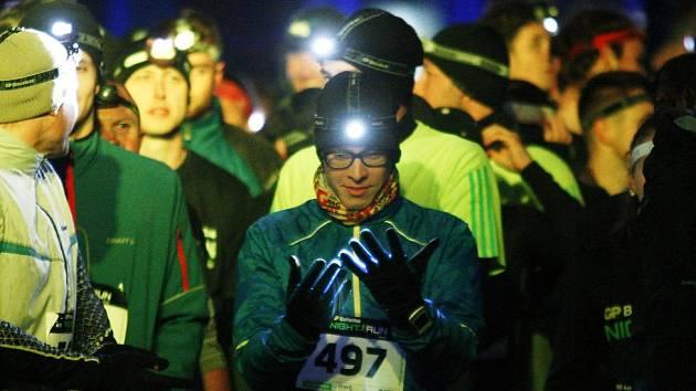 Night Run se běžel také v Ostravě.