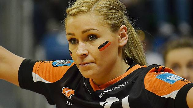 Simona Szarková prodloužila v Mostě o další dva roky. Patří k velkým oporám týmu.
