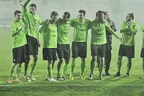 Budou se fotbalisté Mostu radovat v sobotu ve Frýdku-Místku?