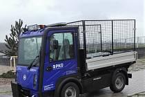 Správce jezer Most a Milada používá  elektromobily.