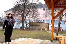 Dokončovaná první soukromá školka v Mostě, která se otevře v dubnu, sídlí v opraveném domě na Zahražanech.