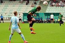 Fotbalisty FK Baník Most-Souš (v zeleném) čekají další přípravné zápasy.