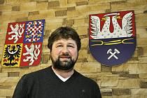 Starosta Malého Března František Štrébl