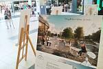 V mosteckém Centralu vystavují budoucnost parku Střed