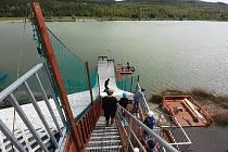 Jumpark Matylda v Mostě je v provozu. O víkendu 22. a 23. května tam měli soustředění akrobatičtí lyžaři z ČR.