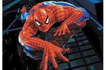 Spiderman, známý comiksový a filmový hrdina.