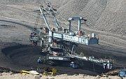 Snímek z takzvaného uhelného safari ve Vršanské uhelné. Archivní foto