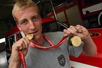 Profesionální hasič z mostecké stanice Jakub Pěkný je mistrem světa