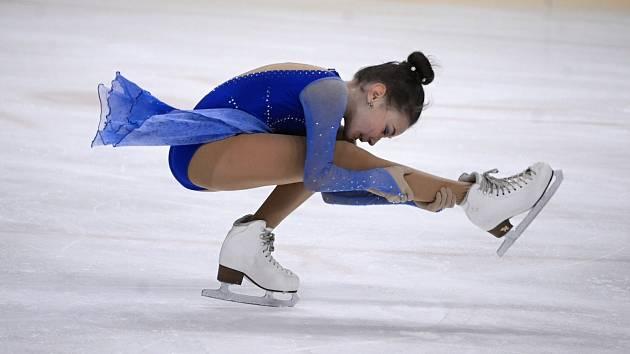 Na mosteckém zimním stadionu se konal osmý ročník Velké ceny v krasobruslení.
