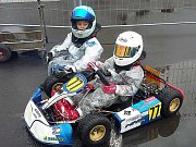 Malí motokáristé jsou Michail Toporkov za volantem a Matvej Sonkin vedle něj.