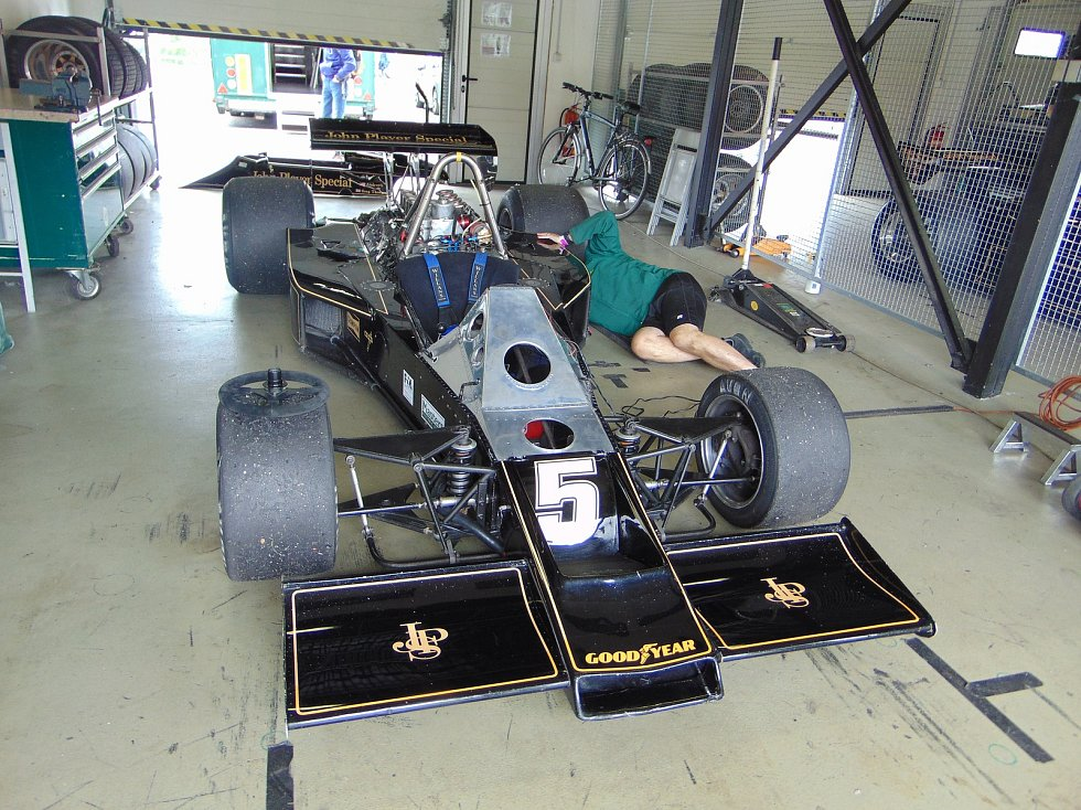 The Most Historic Grand Prix 2018. Lotus 77