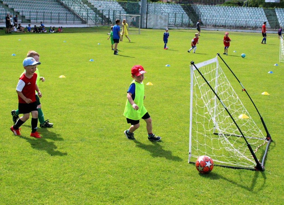 FK Baník Most - Souš pořádal v úterý 15. června nábor nových talentů.