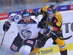 Litvínov v dramatickém duelu hostil Liberec.
