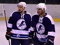 Mostečtí hokejisté vybojovali v Benátkách dva body. Za šedesát pět minut nedostali gól, přičinil se o to brankář Jaroslav Hübl.