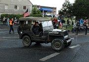 Město Lom poprvé uspořádalo memoriál amerického pilota – stíhače Johna Halsteada Bankse III.