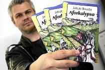 Jakub Bouda se svojí třetí knihou.