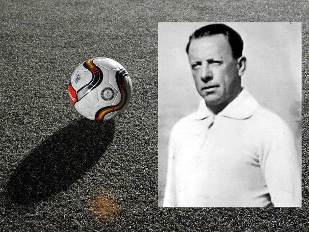 Fotbalista a trenér Anton Cargnelli.