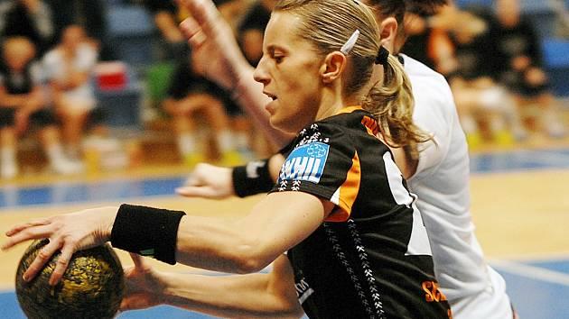 Mostecká hráčka Karin Schererová.