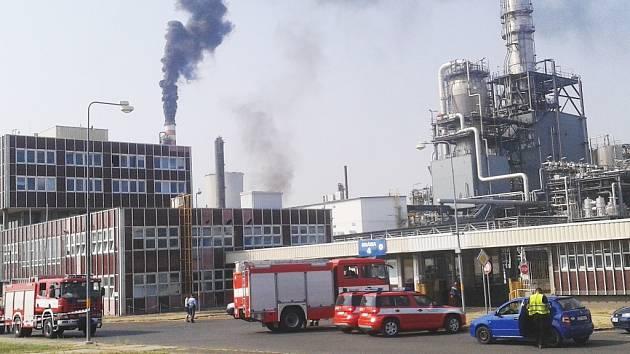 Havárie v chemičce ráno 13. srpna, krátce před evakuací celé oblasti.