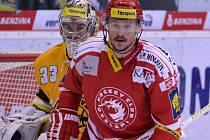 Třetí zápas finále play off Litvínov versus Třinec.
