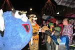 Na akci dorazili i dva maskoti - maskot hokejistů Vervák a maskot blížící se olympiády dětí a mládeže Bambu.