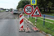 Ve středu bude krátkodobě uzavřena silnice ve Višňové ulici.