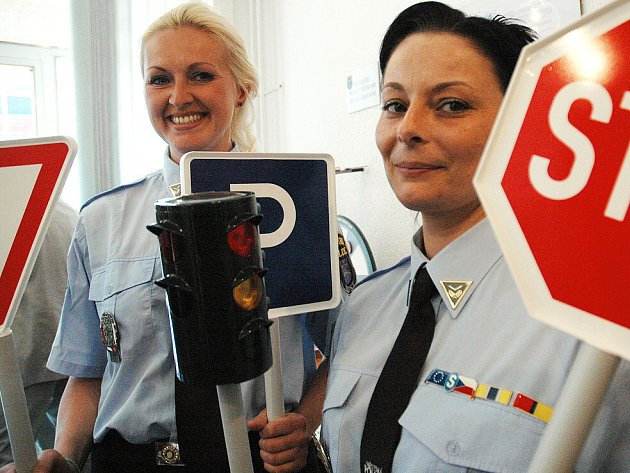 Preventistky mostecké městské policie.