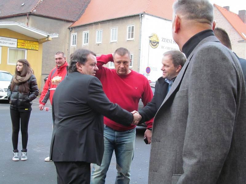 Prezident Českého svazu ledního hokeje Tomáš Král a setkání s někdejším ministrem školství Marcelem Chládkem