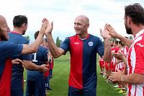 Bývalý prvoligový hráč a reprezentant Petr Johana vede divizní tým fotbalistů Baníku Souš